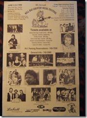 MillBayCountryMusicFestival1995